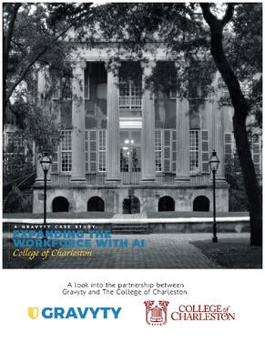 College Of Charleston Expands Fundraising Workforce by 150% with Gravyty and AI