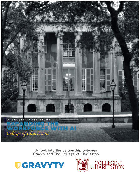 College Of Charleston_Case Study Front Page