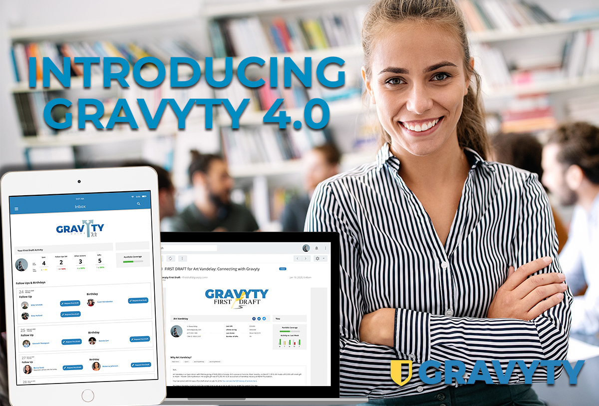 INTRODUCING GRAVYTY 4.0 - THIS IS AI FOR FUNDRAISING