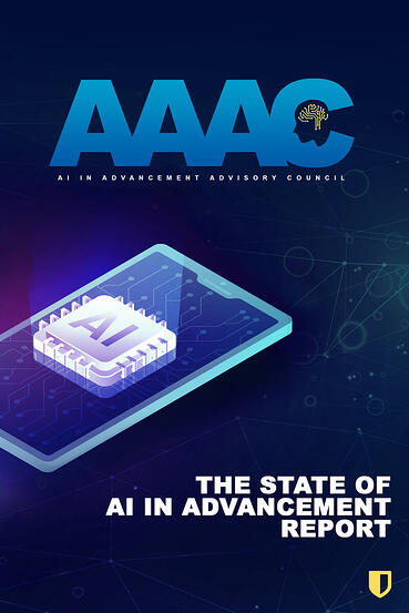 AAAC State of AI in Advancement Report