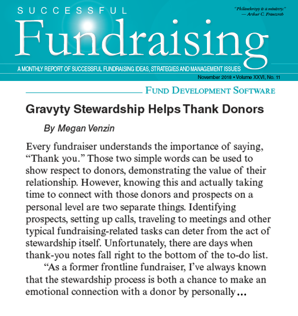 Successful Fundraising Snippet